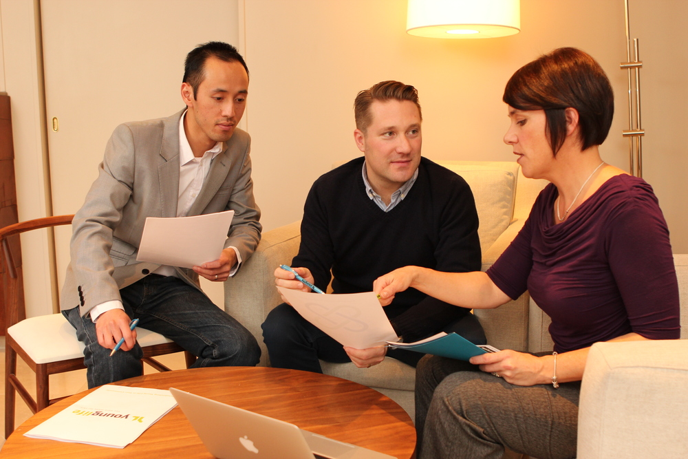 Corporate teamwork photography 2