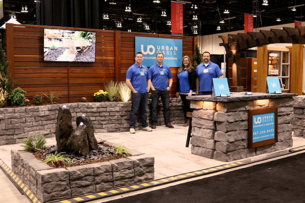 Urban Oasis at The Home Show