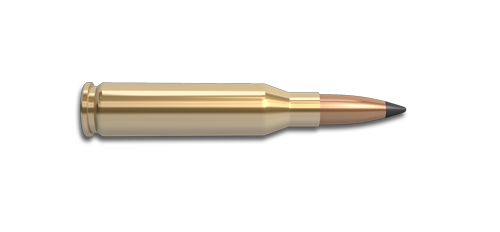 NoslerCustom 7mm Rem Mag Ammunition Cartridge