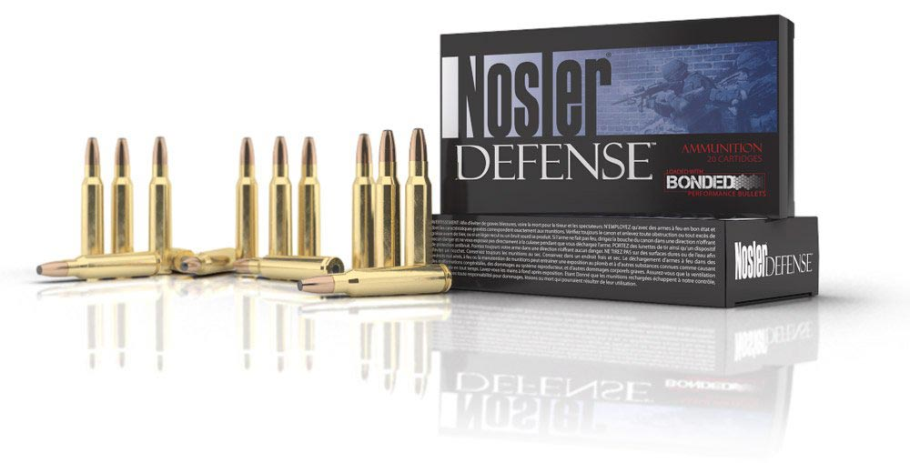 Defense Rifle Ammunition Banner