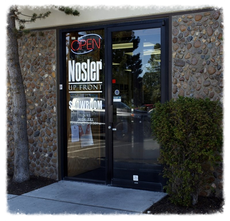 Nosler Showroom Front Door