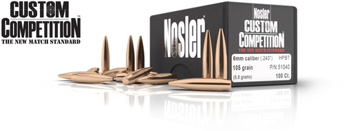 6mm Custom Competition Bullets