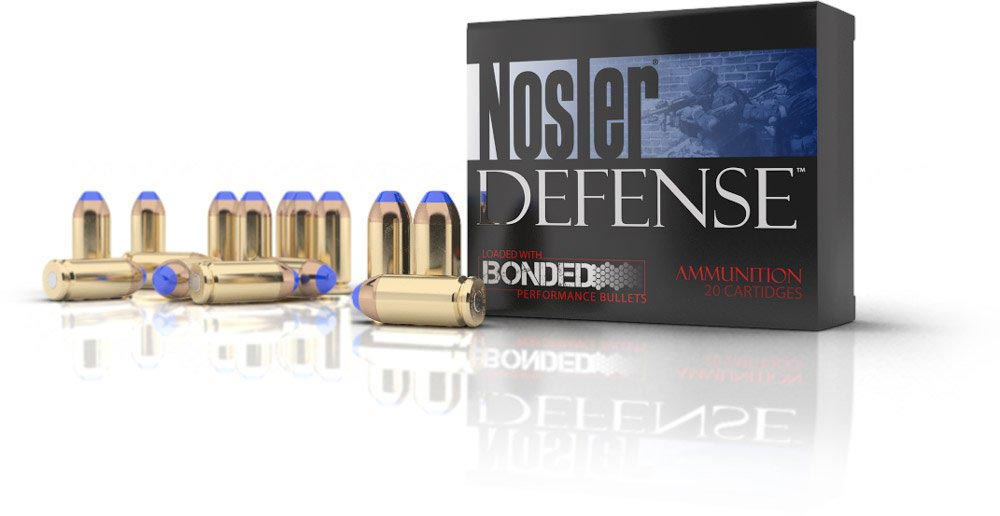 Nosler Defense Handgun Ammunition