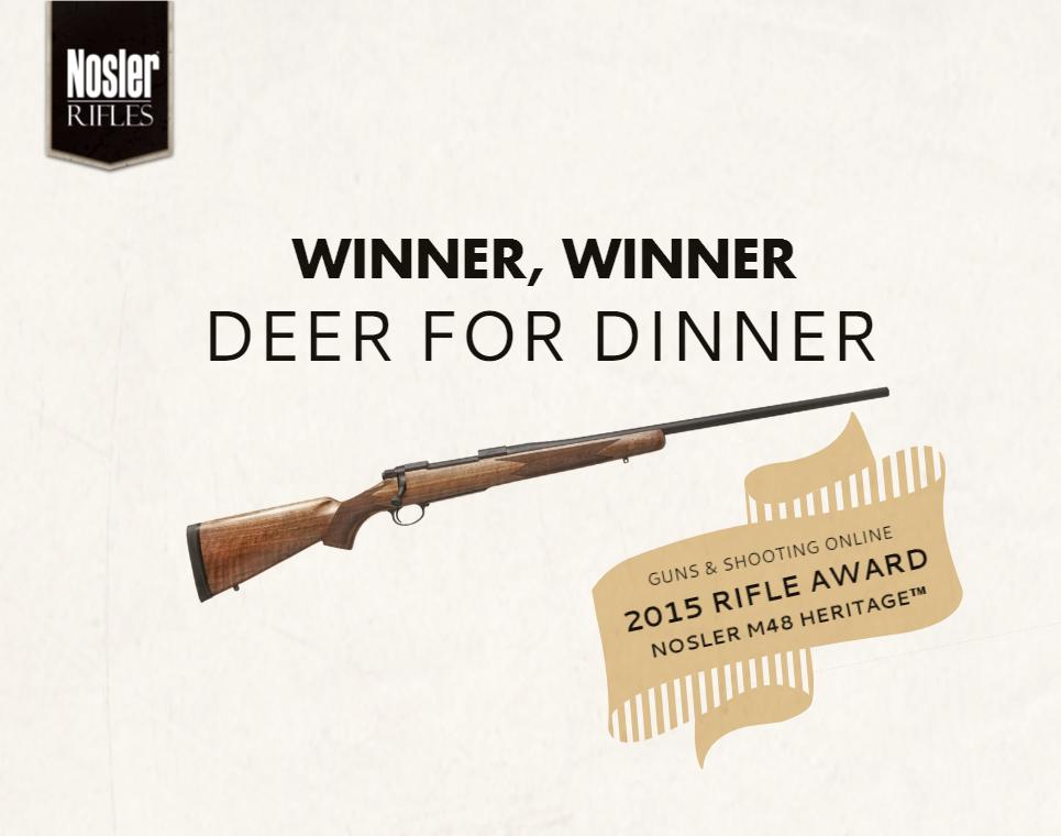 Award Winner Heritage Rifle