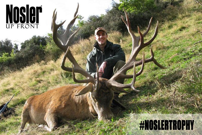 John Nosler Hunting Stag