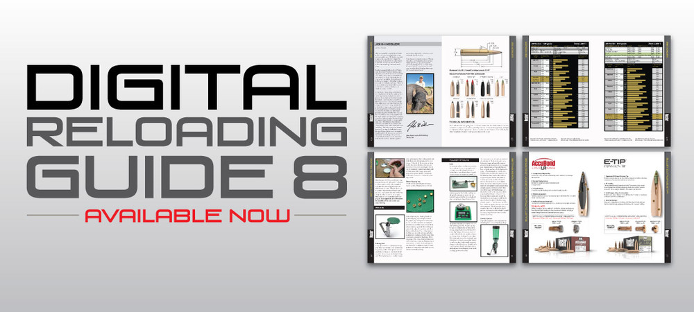 Digital Reloading Guide 8 Banner