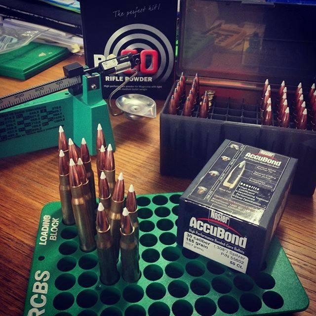 Reloading Nosler AccuBond Bullets