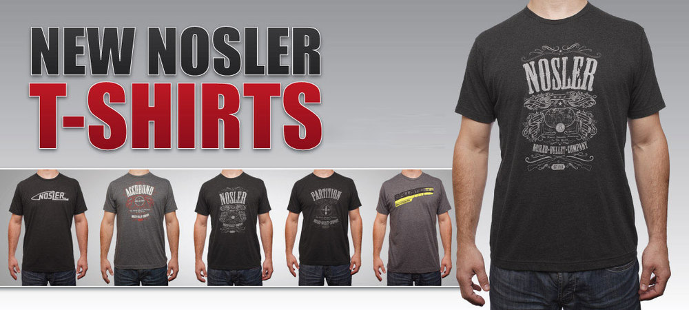 Nosler T-Shirts Banner