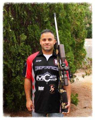 Nosler Sponsored Shooter Jorge Bonilla