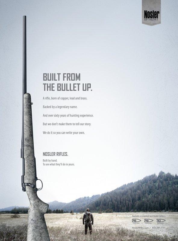 Nosler Rifle Ad