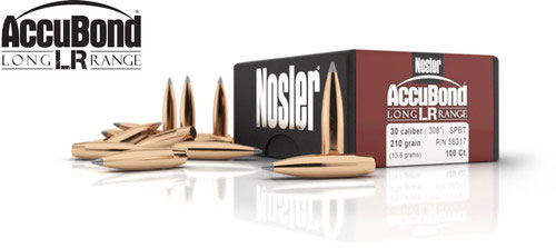 AccuBond Long Range Bullets Banner