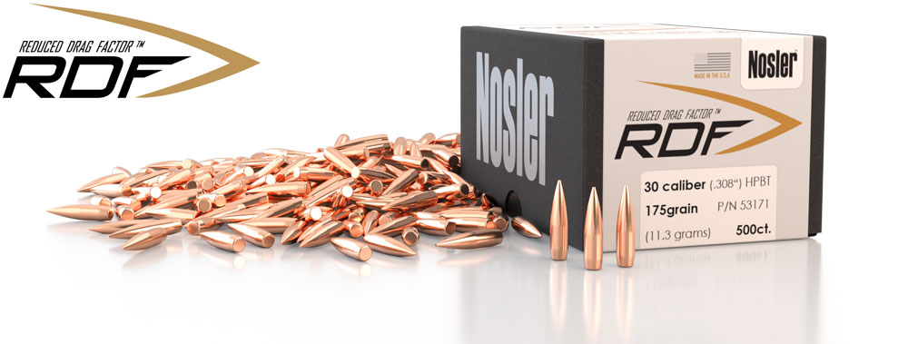 Nosler Unveils Ultra-High BC, Reduced Drag Factor (RDF