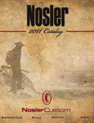 2011 Nosler Catalog Cover