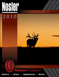 2010 Nosler Catalog Cover