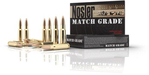 Match Grade Rifle Ammunition Banner