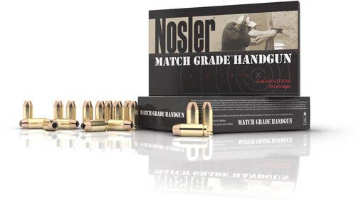 Match Grade Handgun Ammunition Banner