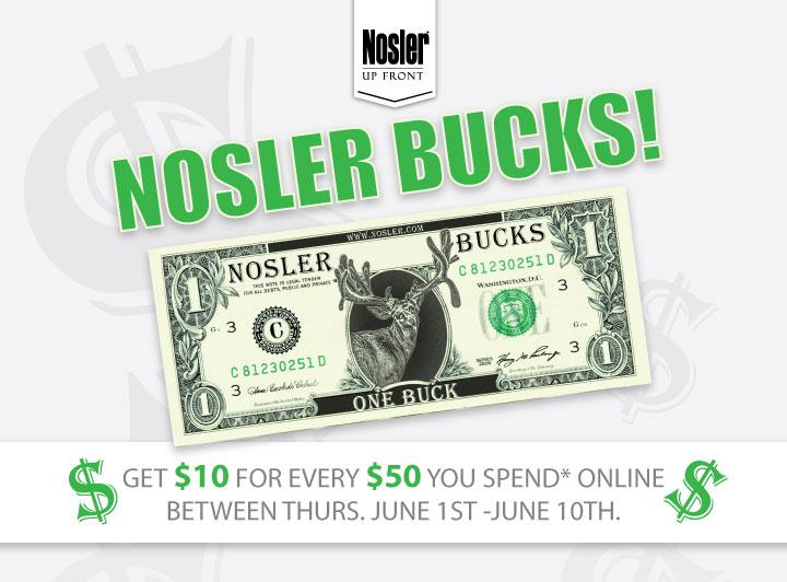 Nosler Bucks Banner