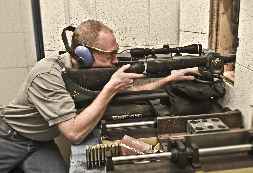 BARREL BREAK-IN PROCEDURE   - A procedure frequently overlooked by new rifle owners is completing a thorough barrel break-in. When new barrels are made, steel is unevenly stressed and microscopic burs and rough-spots are created. Hand-lapping new barrels certainly helps with those burs and rough-spots, but there is nothing like putting rounds through them to relieve stress and put the final polish on the bore.Nosler's recommended procedure calls for about 30 rounds and plenty of time spent cleaning the bore, and takes most shooters the better part of a day at the range to complete. However, this hard work ensures reliable and consistent accuracy from your new rifle and results in a barrel that is significantly easier to clean over its working life.