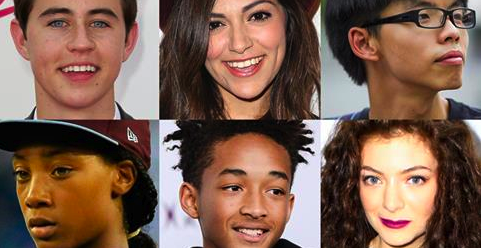 Read more about some of the controversial picks for this year's  25 most influential teens .  image via www.time.com