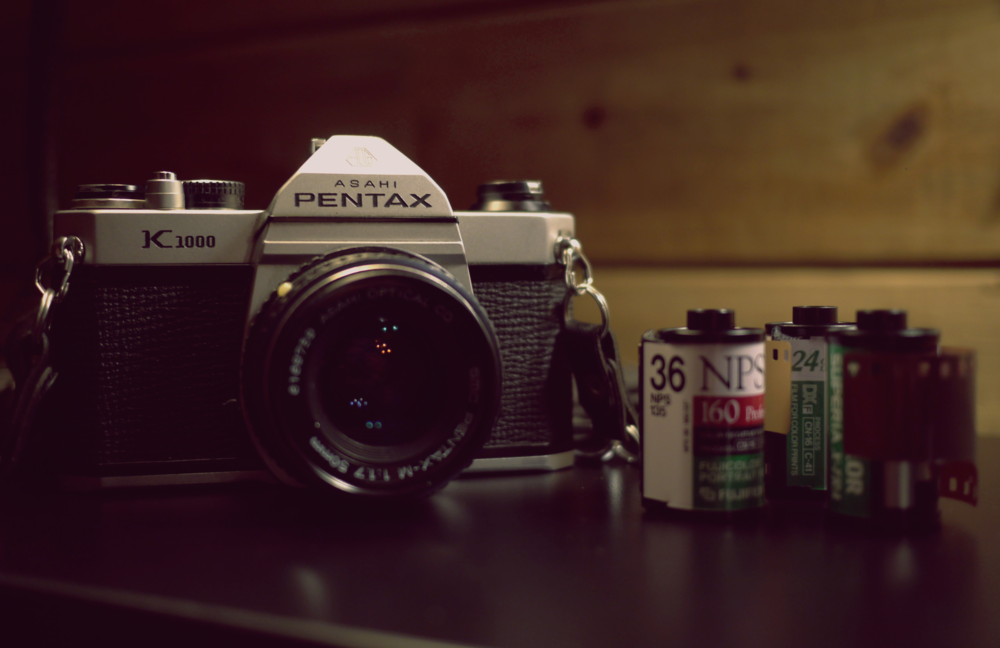 Pentax K1000 with Fujifilm