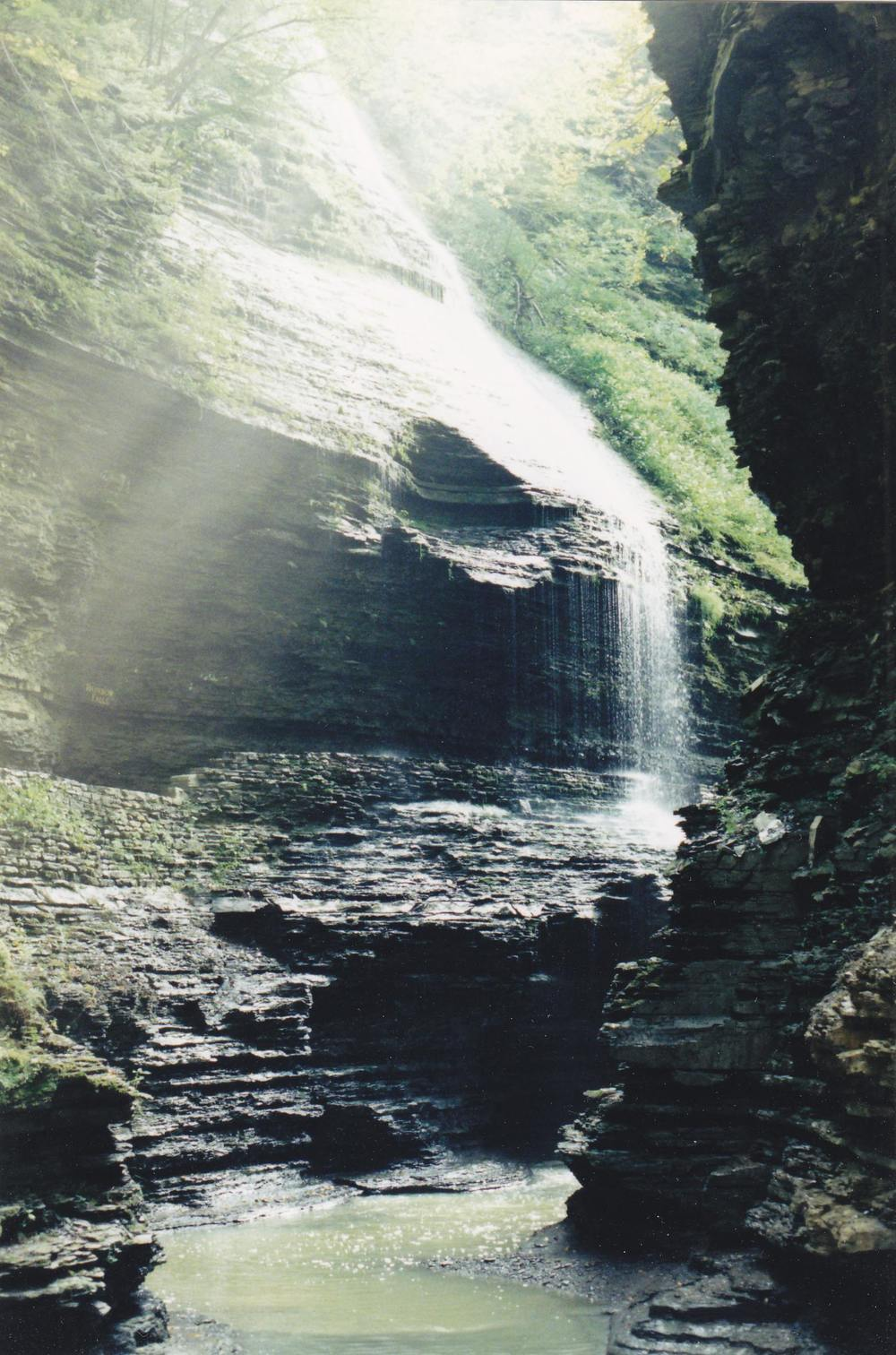 Waterfall -Watkins Glen, NY - 2003