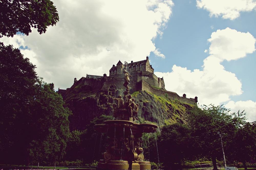 Edinburgh Caste, Scotland