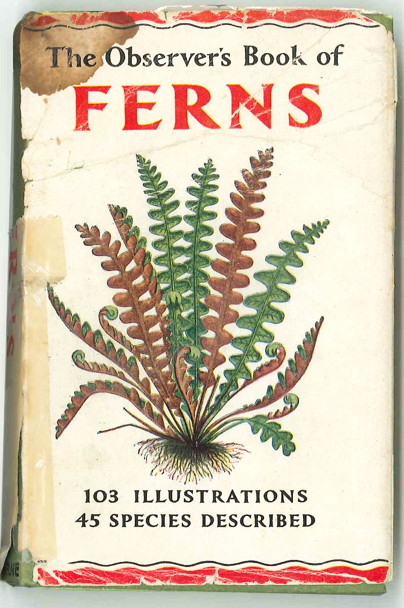 The Observer's Book of Ferns reprinted 1962
