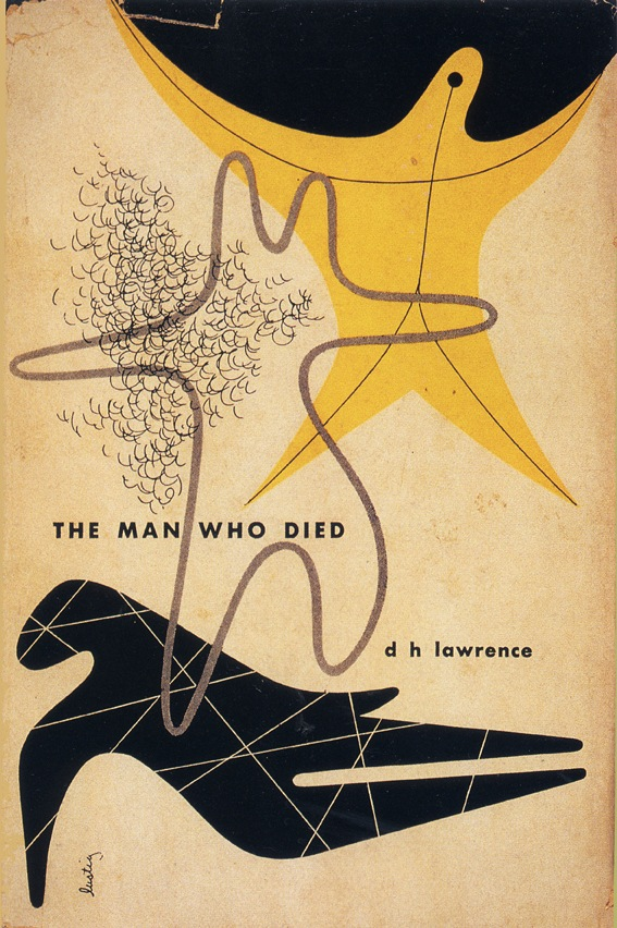 The Man Who Died by D H Lawrence | Cover design by Alvin Lustig 1947