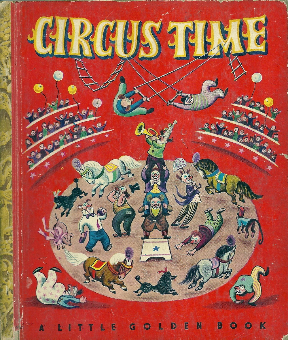 Circus Time, 1948 via  ebay . Sold for $5.52. Illustrations by Tibor Gergely