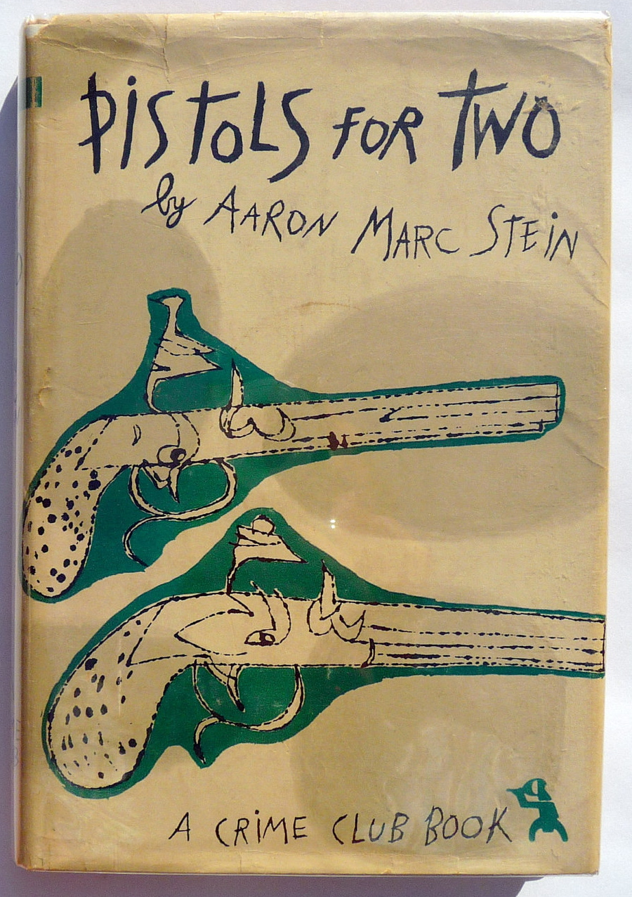 Pistols for Two by Aaron Marc Stein 1951 via  Etsy