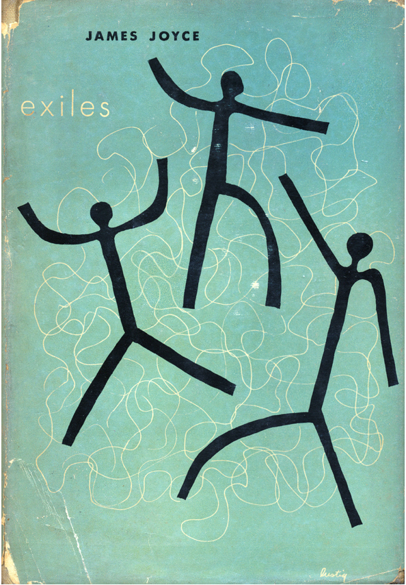 Exiles by James Joyce.New Directions, 1945. by Scott Lindberg on Flickr.