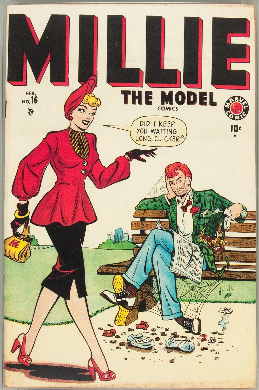 Millie the Model #16 Davis Crippen 1949
