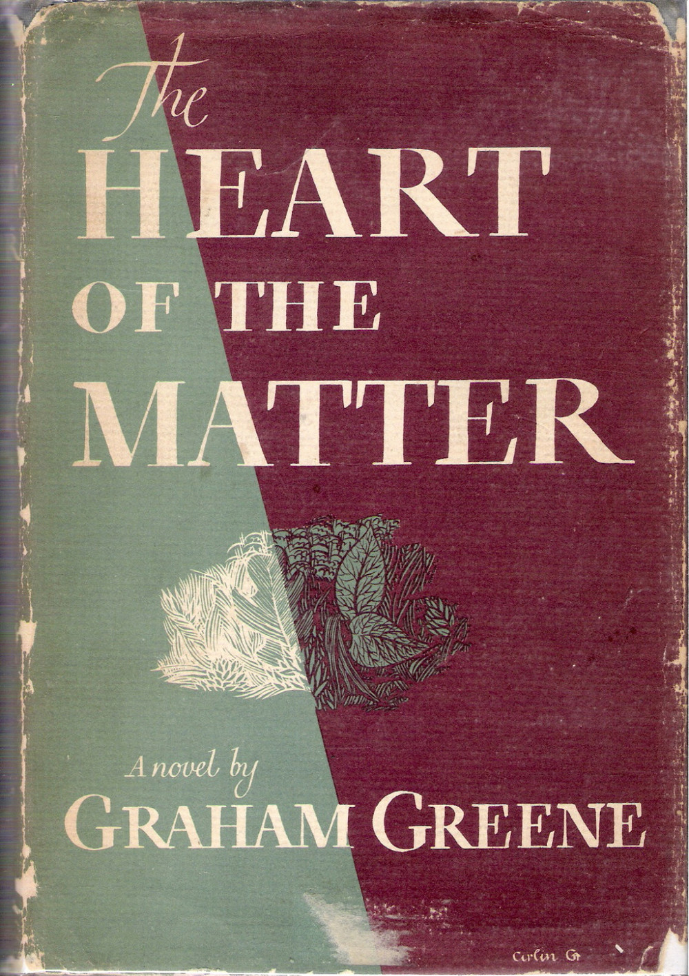 The Heart of the Matter 1948 via ebay
