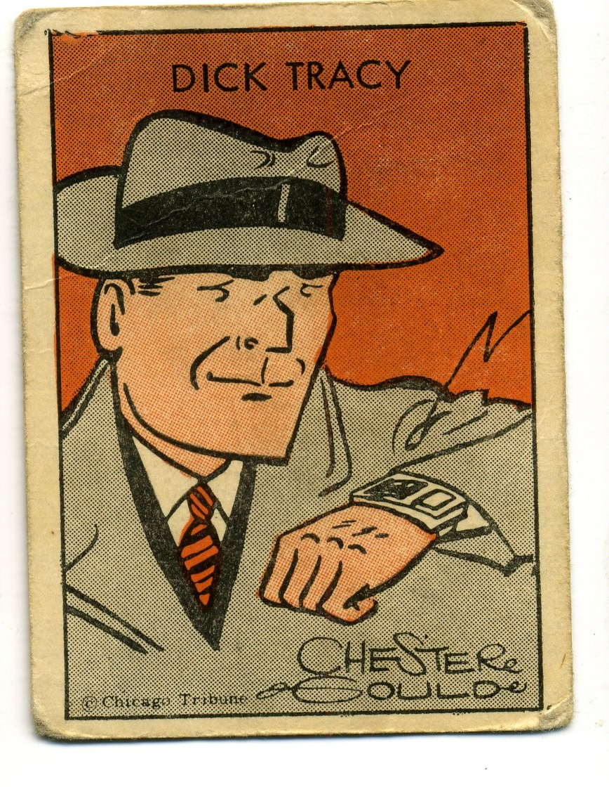 TRADING CARD DICK TRACY TIPTOP DICK WATCH F.JPG