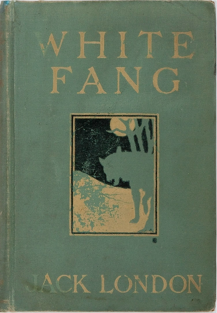 White Fang. Macmillan Company, 1906. First edition. Color illustrations by Charles Livingston Bull.
