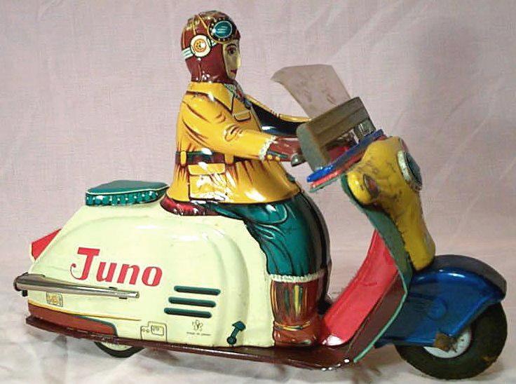 Juno scooter 1950. Yonoana.