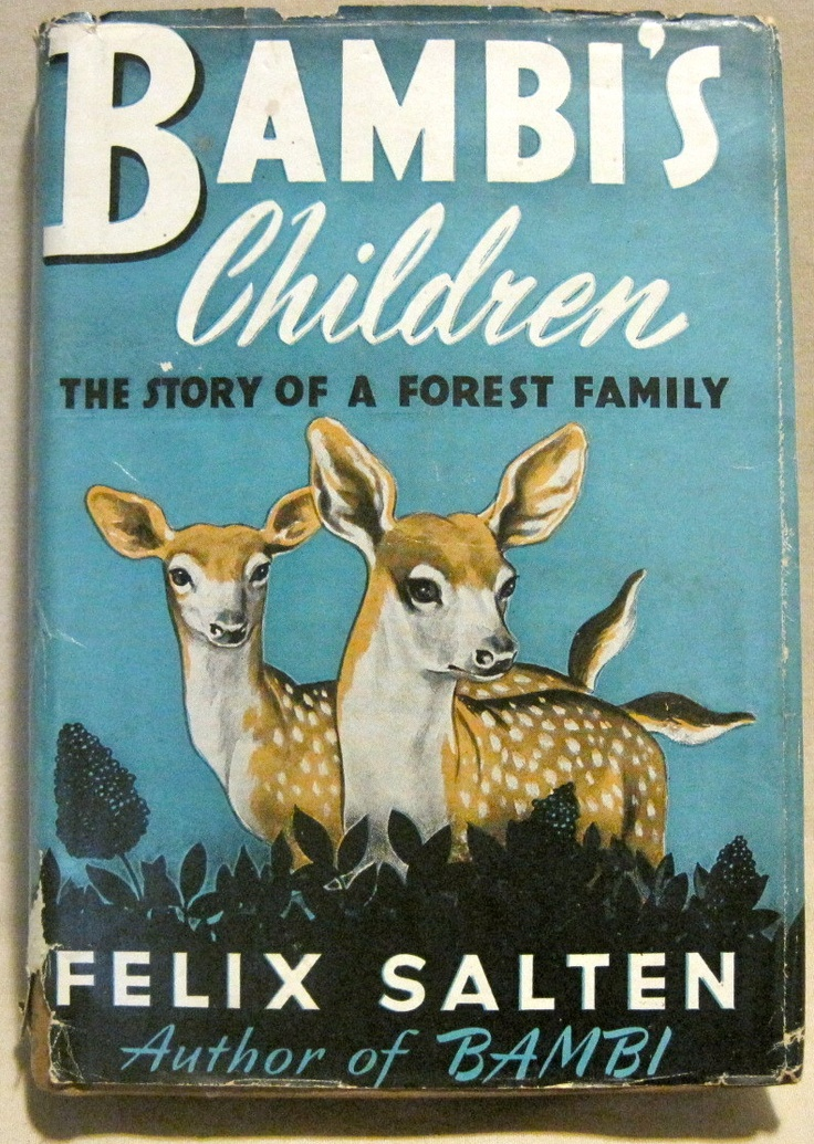 Bambi's Children by Felix Salten 1939