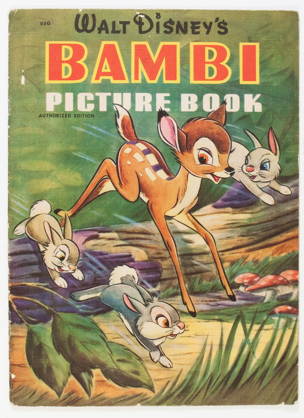 Bambi Picture Book #930 (Disney/Simon & Shuster, 1942) via Heritage Auctions