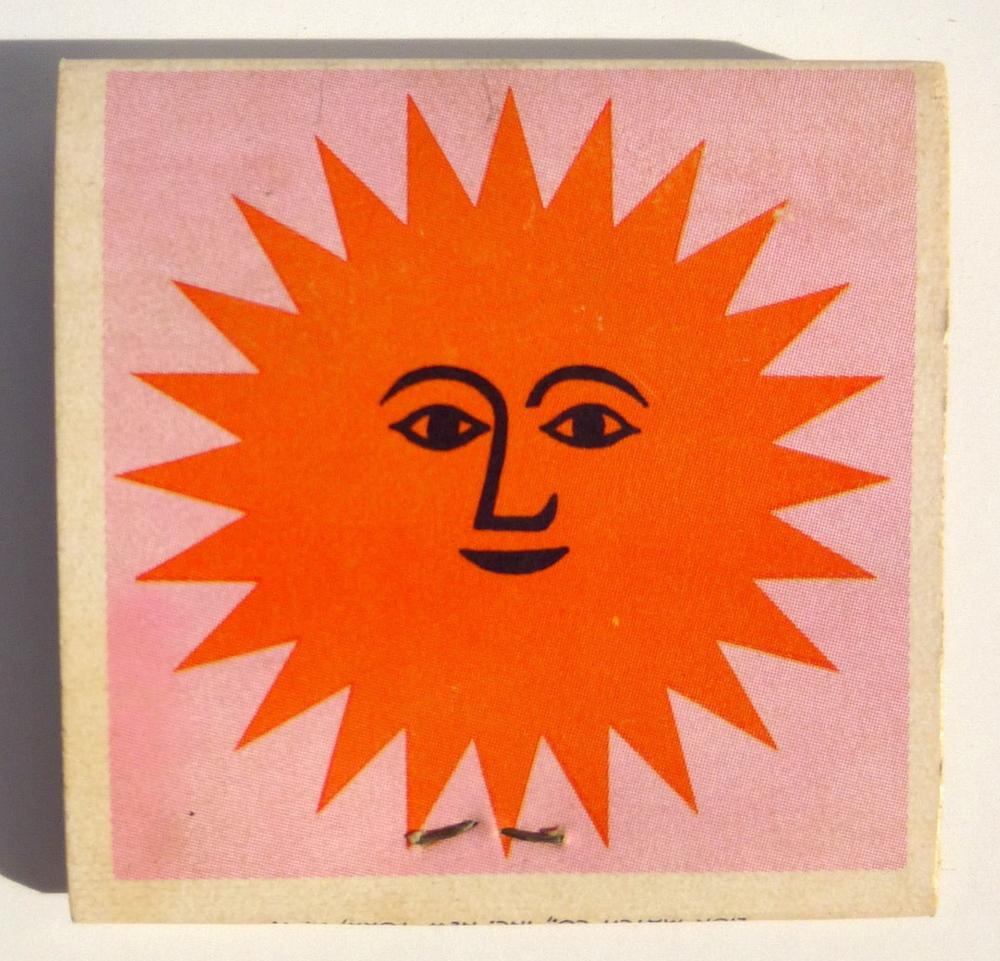 Alexander Girard.Designed for the La Fonda del Sol restaurant in New York City. $45.