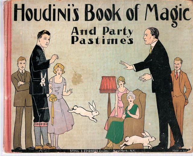 Houdini's Book of Magic and Party Pastimes 1927 via Abebooks.com