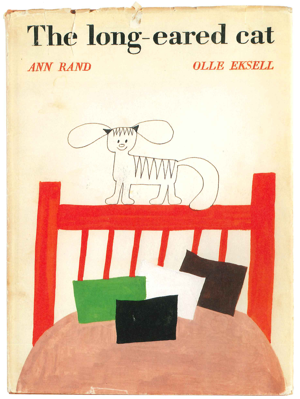 The long-eared cat by Ann Rand and olle Eksell