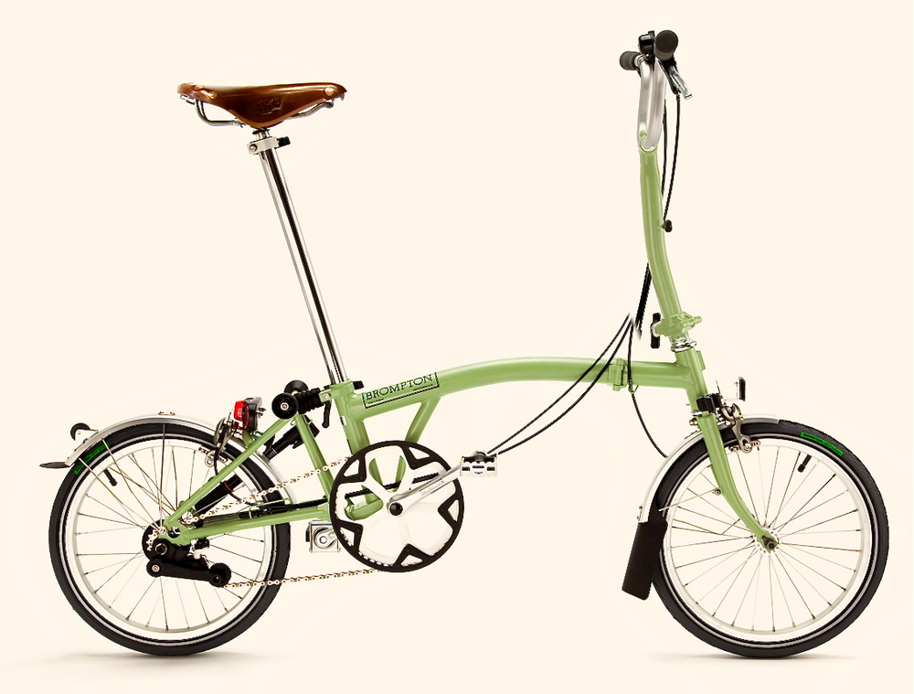 Brompton H Style 2-speed folding bicycle