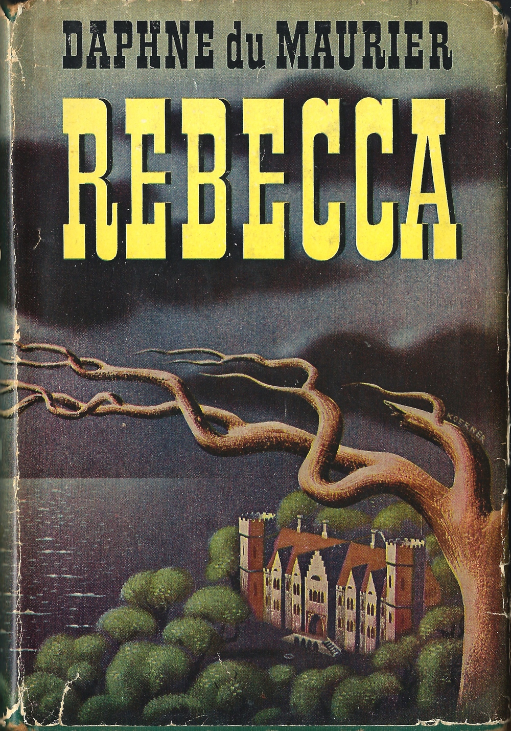 Rebecca by Daphne du Maurier | 1940s edition