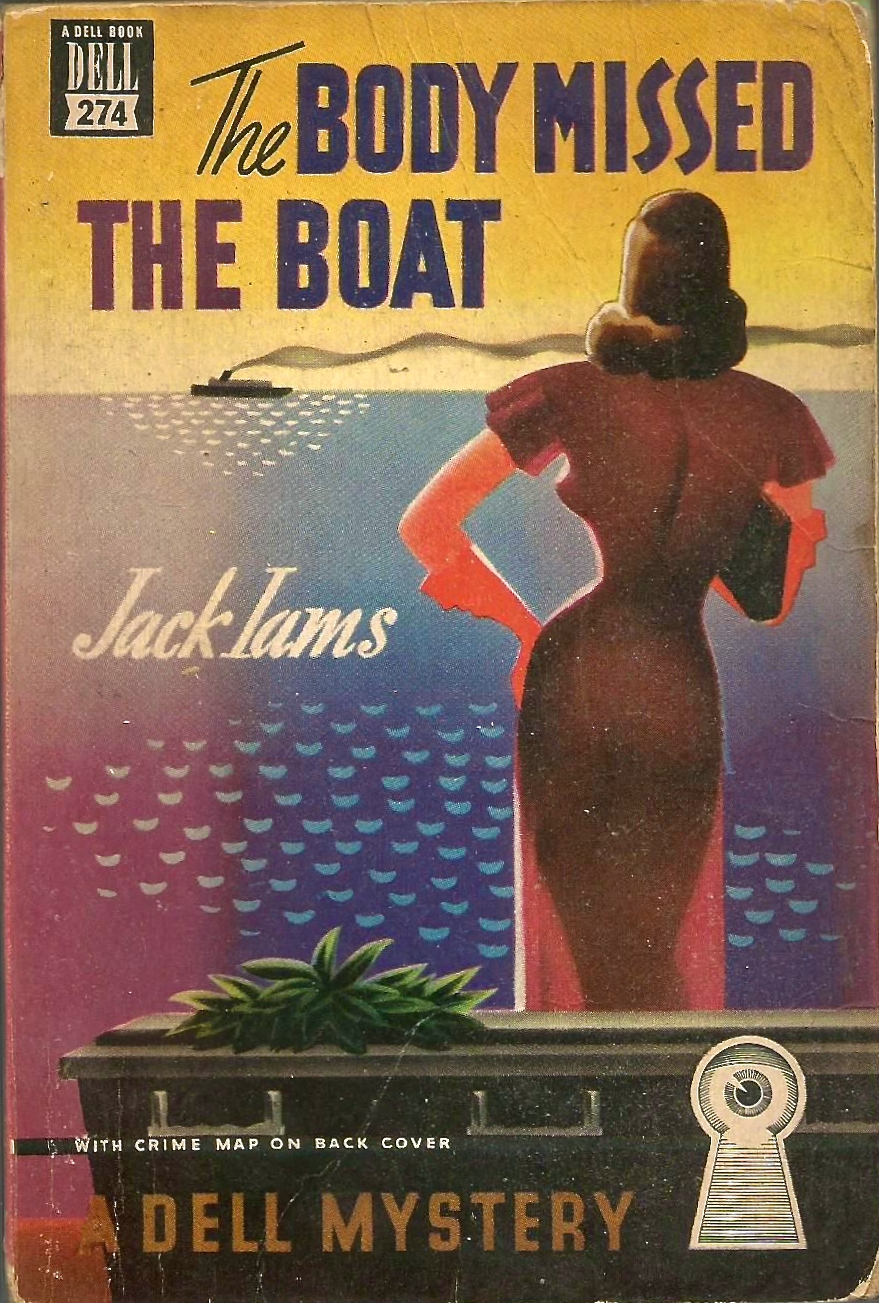 The Body Missed the Boat by Jack Iams 1949 via  ebay