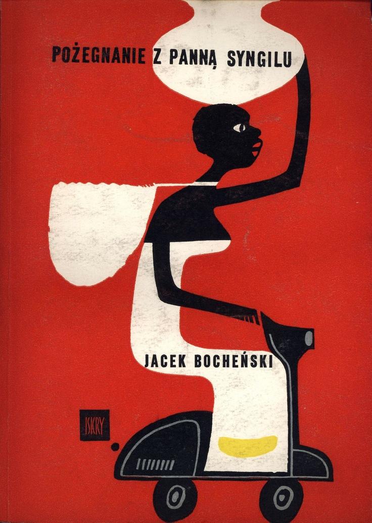 """""""Pożegnanie z panną Syngilu"""" Jacek Bocheński Cover by Janusz Stanny 1960"""