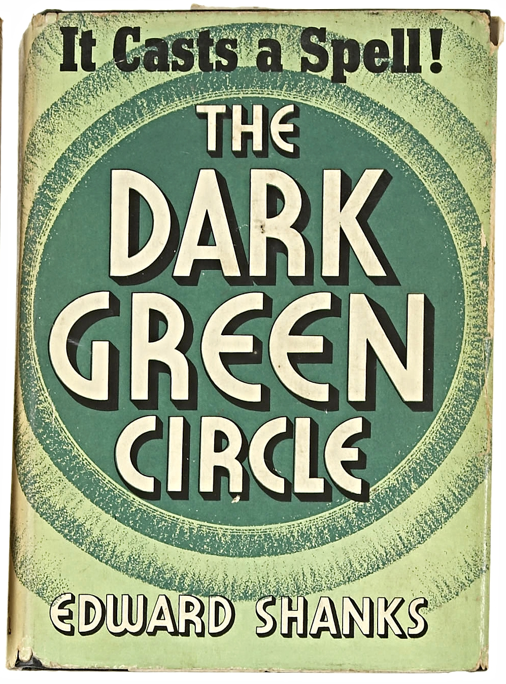 Edward Shanks. The Dark Green Circle. Indianapolis and New York: The Bobbs-Merrill Company, [1936]. First edition.
