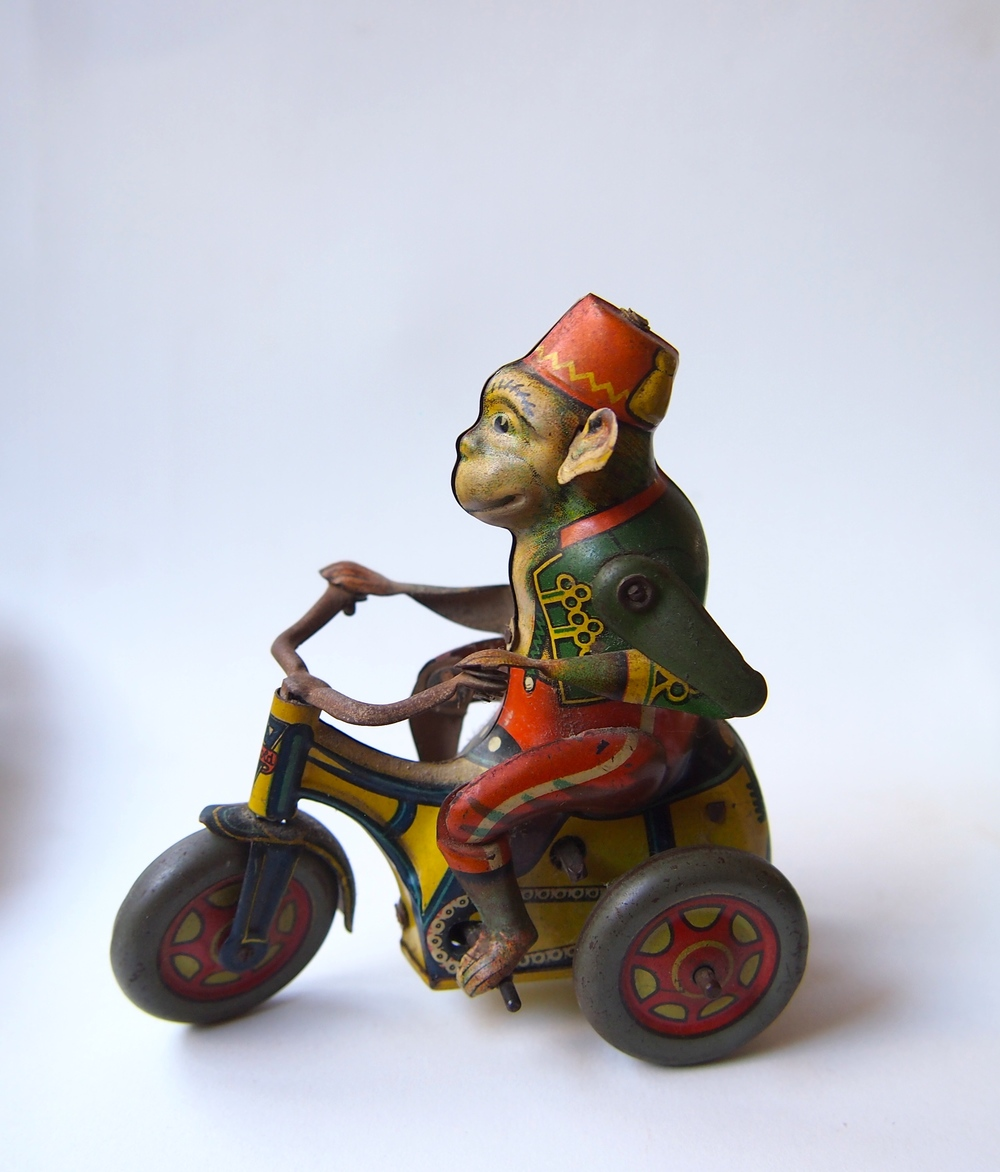 Schuco Tricycle Monkey