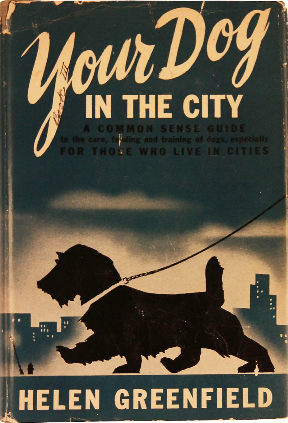 Your dog in the city 1945 via