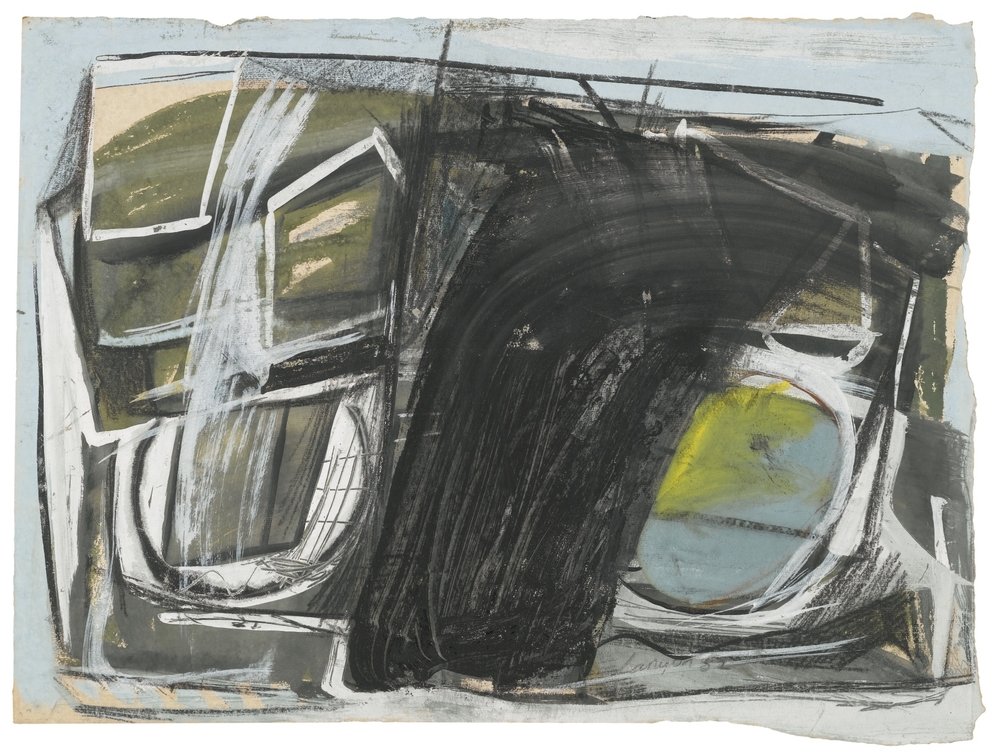 PETER LANYON 1918-1964 | NORTH COAST, 1952 via  Sotheby's