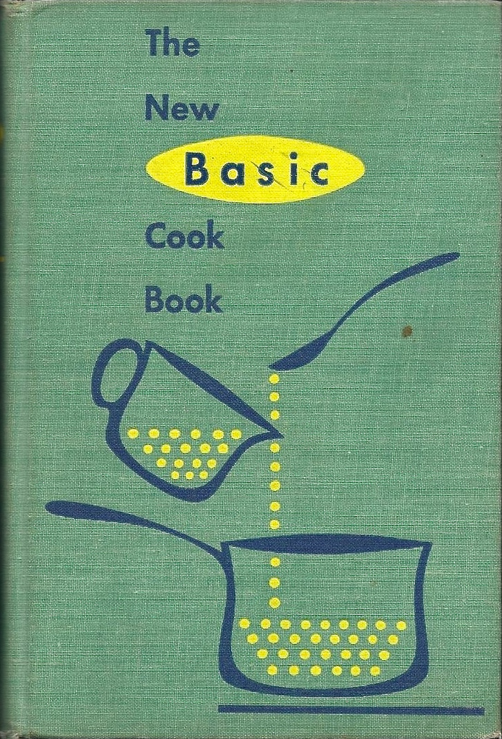 The New Basic Cook Book 1957 via  ABE books